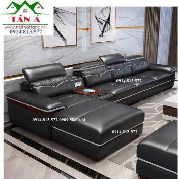bộ bàn ghế sofa da cao cấp N21
