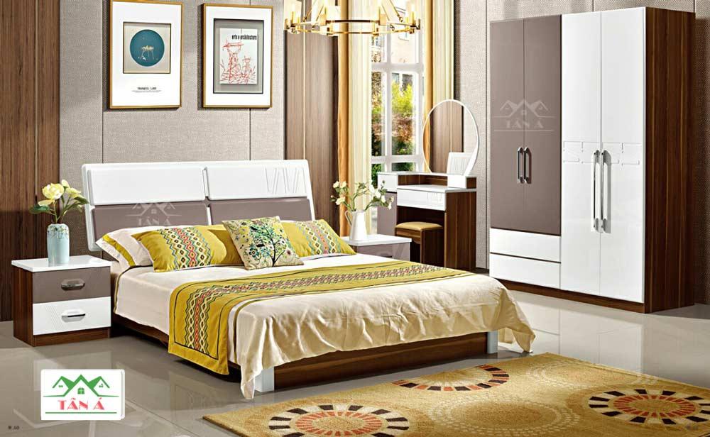 giường ngủ gỗ công nghiệp giá rẻ tphcm