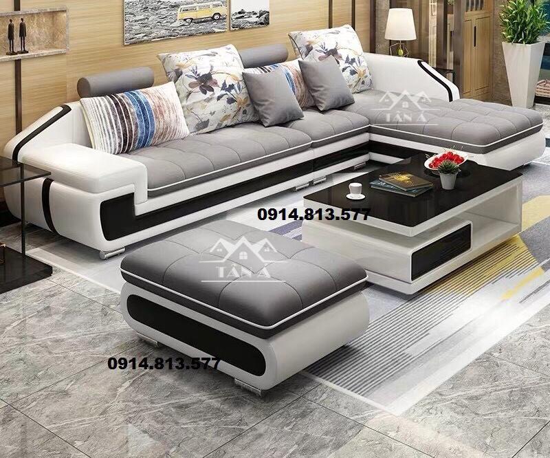 Sofa vải bố nhập khẩu