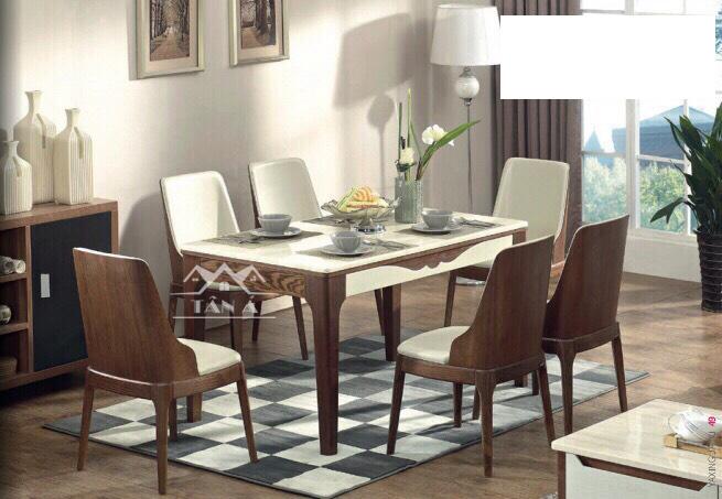 Bộ bàn ăn 6 ghế hiện đại giá rẻ