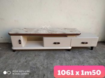 kệ tivi gỗ phòng khách chung cư KT09