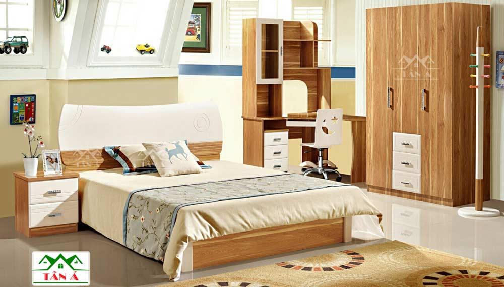 Bộ Giường ngủ giá rẻ hiện đại