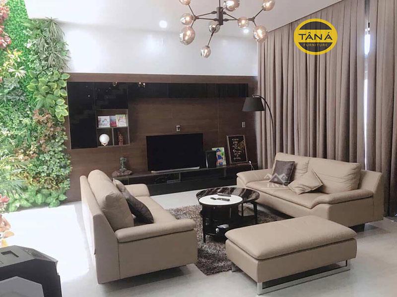 sofa văn phòng da hàn quốc