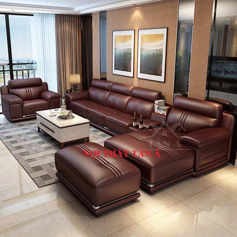 sofa da nhập khẩu hàn quốc