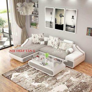 Sofa Vải T10-2.4 Thanh lịch dịu dàng, êm ái như chú mèo trắng