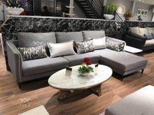 Sofa Vải Nỉ Góc L Nhập Khẩu TA-1895