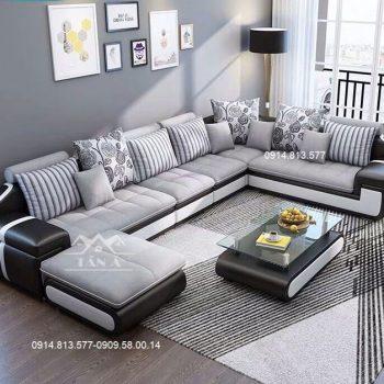 Sofa vải góc L giá rẻ