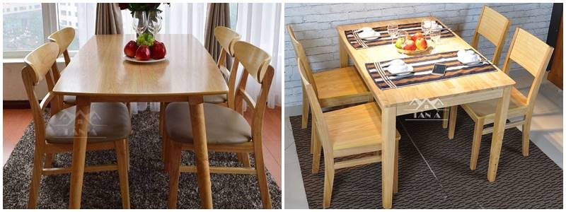 Xu hướng chọn bộ bàn ghế ăn cho gia đình 2020