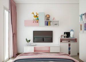 Phá cách với lối trang trí phòng ngủ lãng mạn - Nội thất Tân Á khuyến mãi