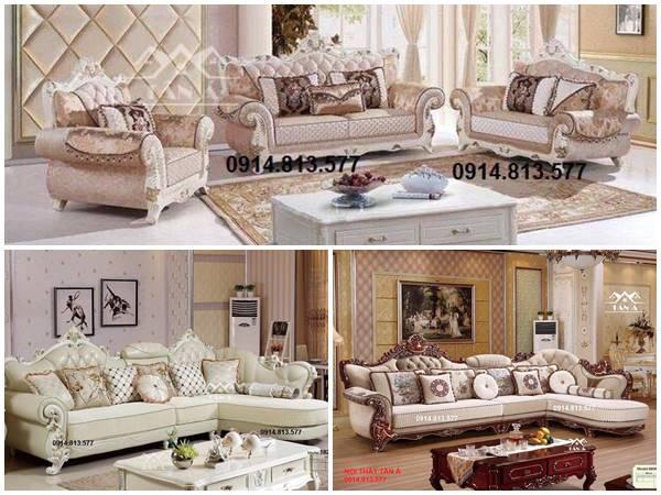 sofa tân cổ điển cao cấp nhập khẩu giá rẻ