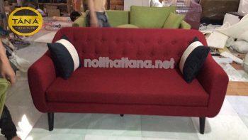 sofa băng đỏ rượu