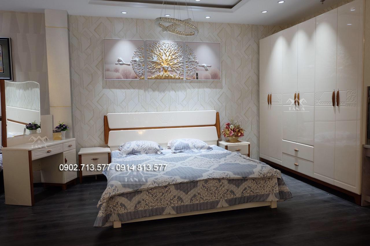 bộ giường ngủ giá rẻ vĩnh long