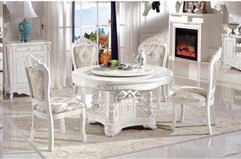bàn ăn mặt đá 6 ghế giá rẻ