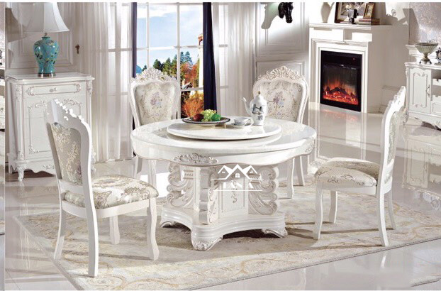 bộ bàn ăn gỗ sồi 6 ghế giá rẻ