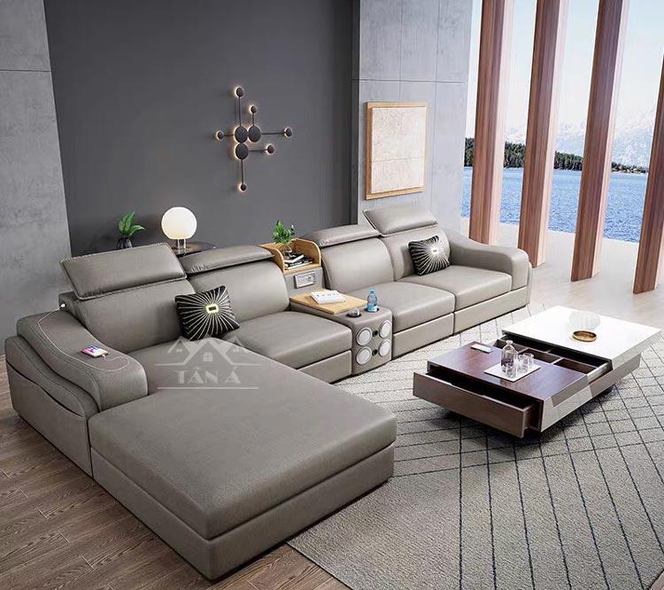 bộ bàn ghế sofa phòng khách cao cấp