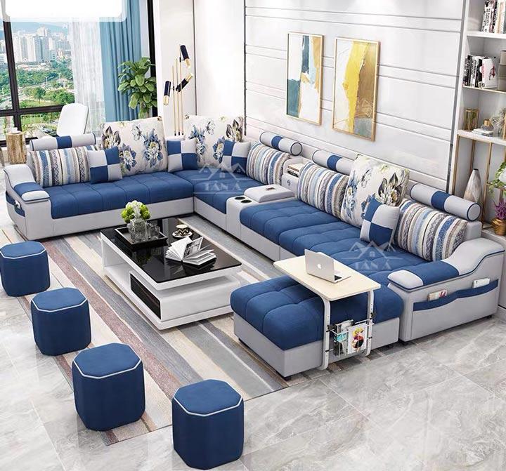 sofa vải phòng khách giá rẻ tại Vĩnh Long