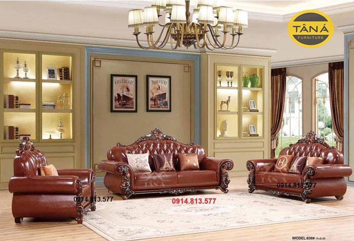 sofa tân cổ điển nhập khẩu giá bao nhiêu