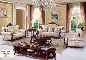 bộ bàn ghế sofa tân cổ điển đẹp