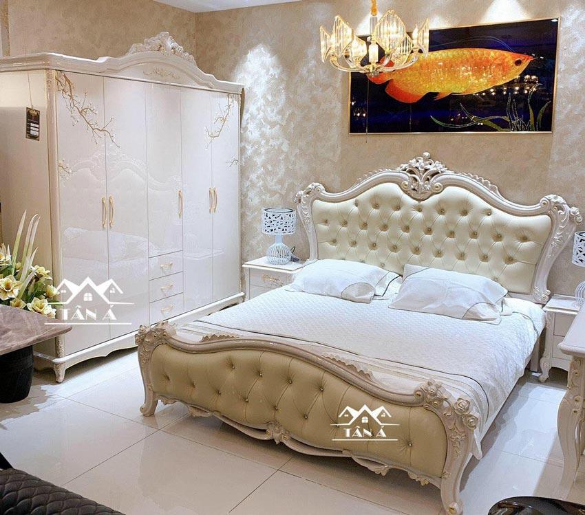 combo giường tủ đẹp hiện đại TA-M39