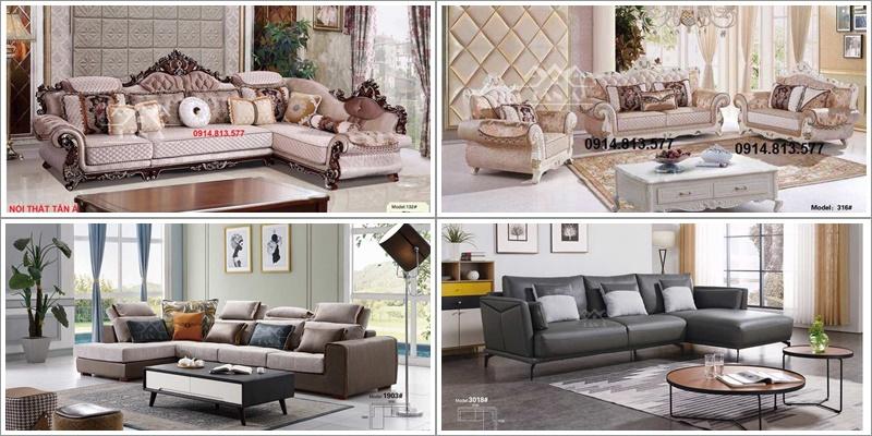 bộ bàn ghế sofa giá rẻ an giang