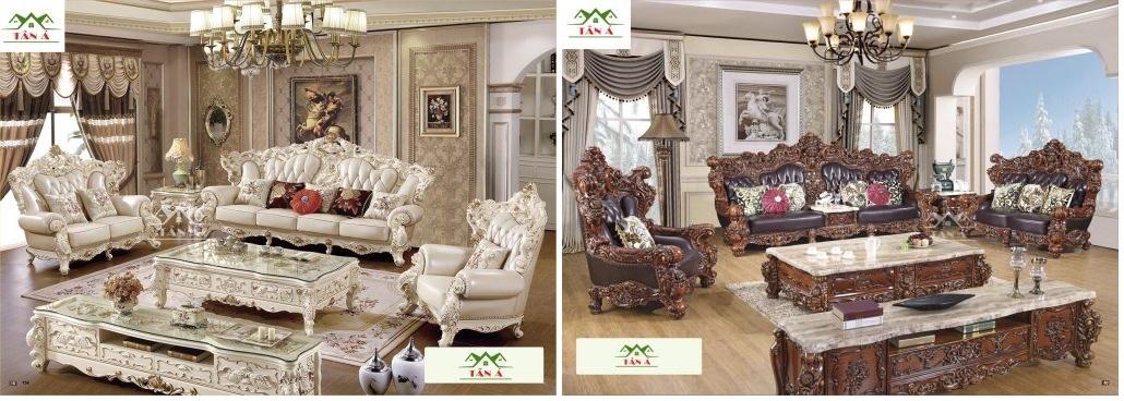 bộ bàn ghế sofa tân cổ điển đẹp hiện đại hàng nhập khẩu đài loan tại Cần Thơ