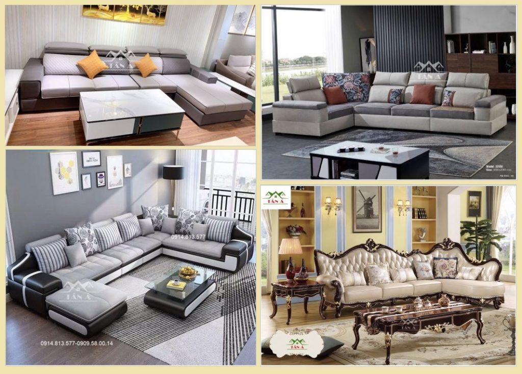 Thanh lý sofa da, sofa Tân cổ điển đẹp giá rẻ tại xưởng ở tphcm