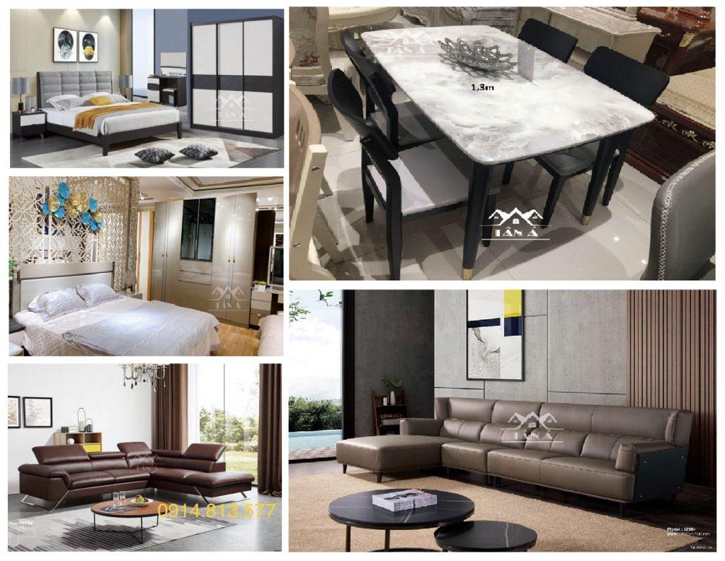 Mua sofa, bàn ăn, giường ngủ giá rẻ Tây Ninh