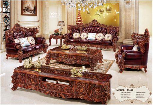 ghế sofa tân cổ điển đẹp nhập khẩu đài loan, sofa phòng khách cao cấp