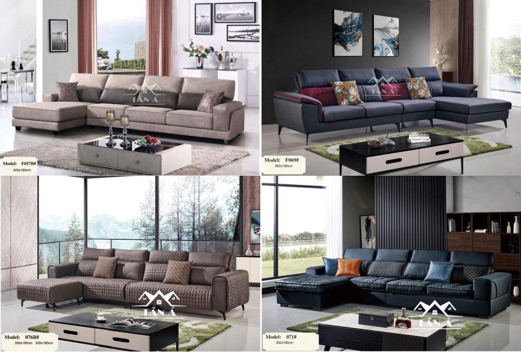 Mẫu ghế sofa vải nhập khẩu đẹp.