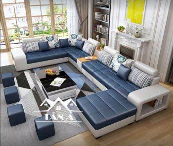 Ghế sofa da hàn quốc giá rẻ, sofa phòng khách nhỏ gọn