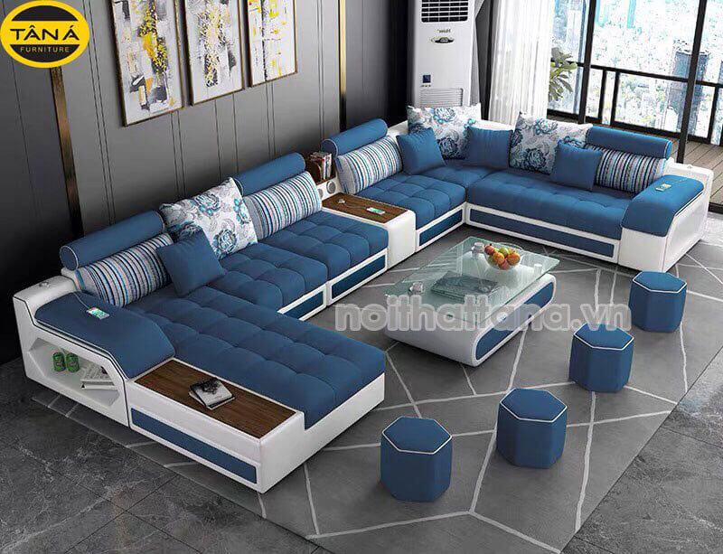 sofa vải bố giá rẻ