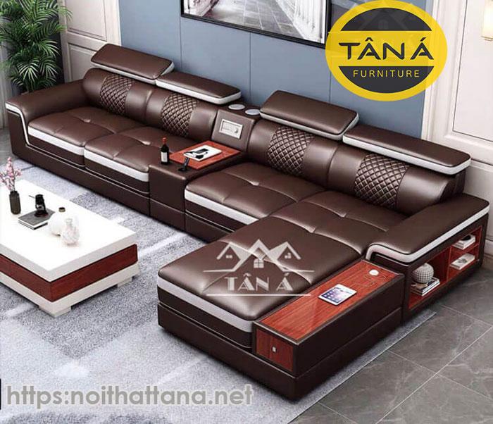 mẫu sofa da hàn quốc đẹp tphcm