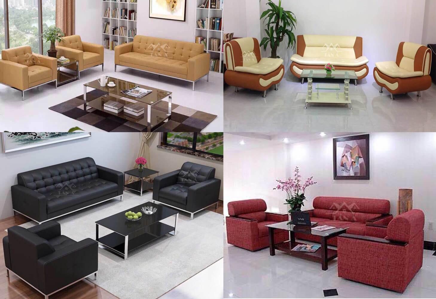 Chọn ghế sofa cho văn phòng nhỏ