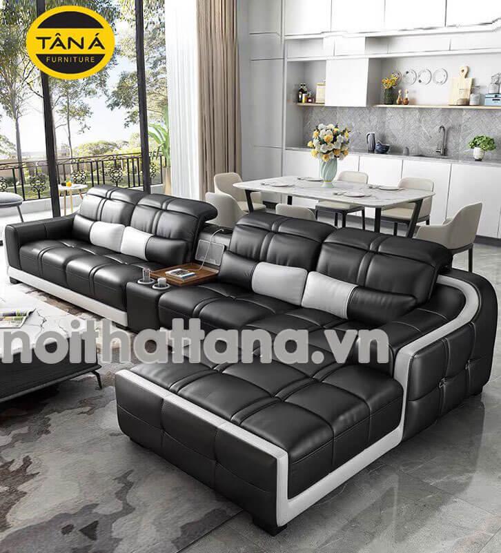 sofa góc l nhập khẩu