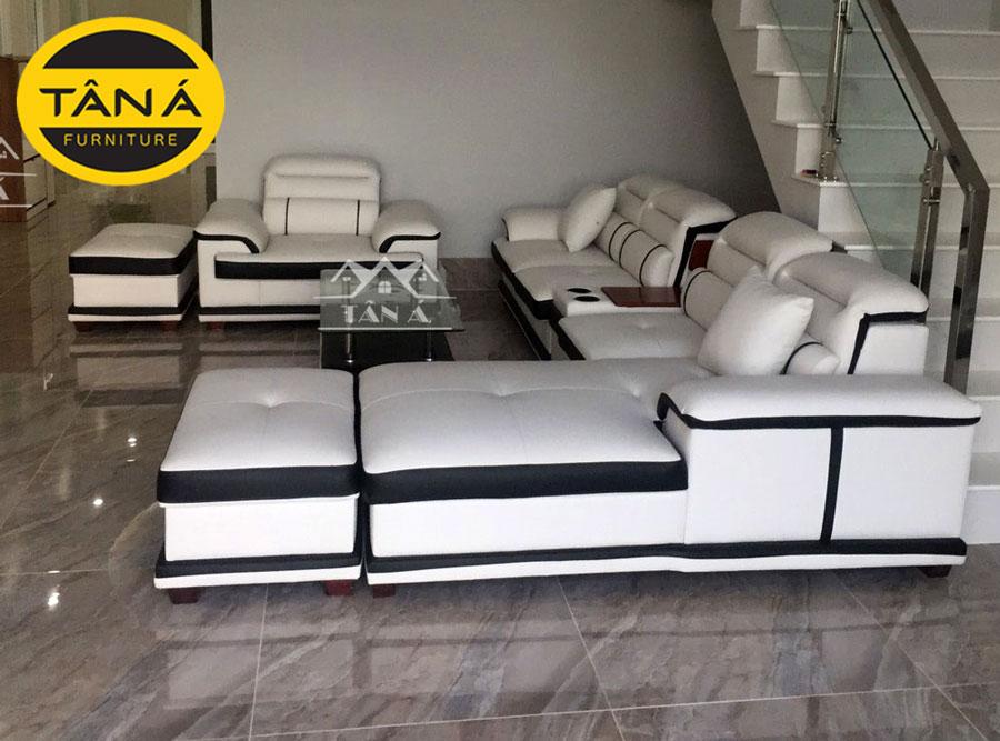 bộ bàn ghế sofa góc