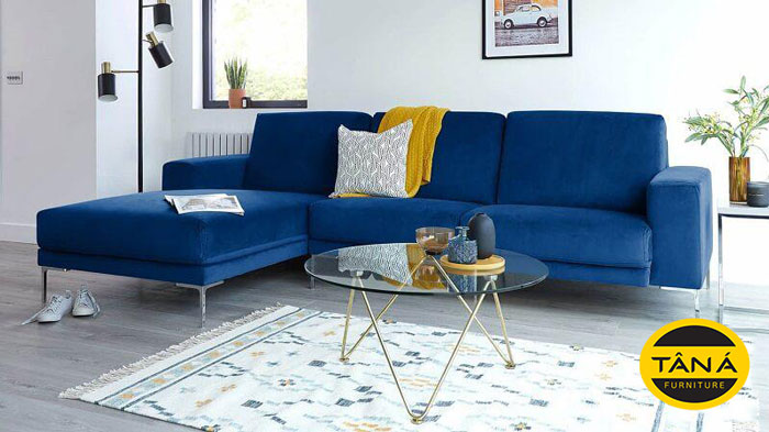 sofa vải nhung