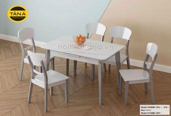 bàn ăn hiện đại 6 ghế