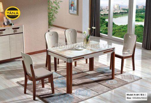 bàn ăn nhập khẩu 4 ghế