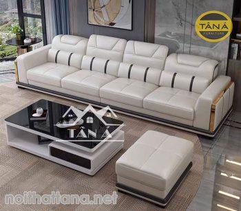 mẫu sofa băng dài 4 chỗ ngồi
