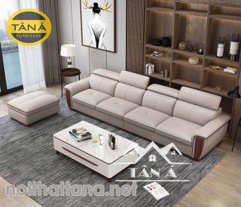 ghế sofa băng dài da công nghiệp