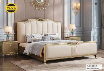 giường tân cổ điển đài loan nhập khẩu