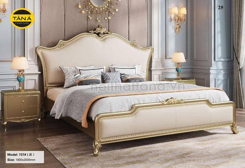 giường ngủ tân cổ điển đài loan nhập khẩu