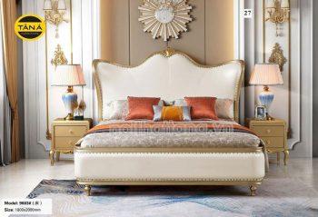 bộ giường ngủ tân cổ điển nhập khẩu đài loan