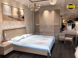 combo giường tủ phòng ngủ hiện đại