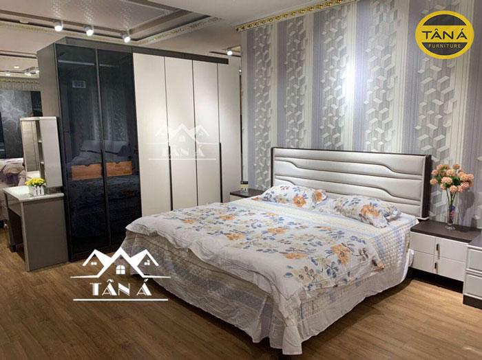 mẫu giường ngủ hiện đại giá rẻ