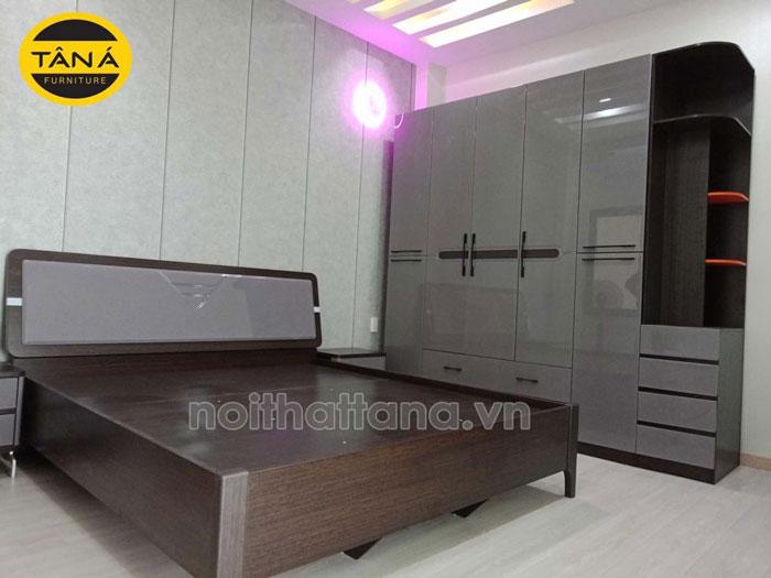 giường tủ phòng ngủ hiện đại