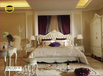 bộ giường ngủ tân cổ điển nhập khẩu cao cấp TA-G03