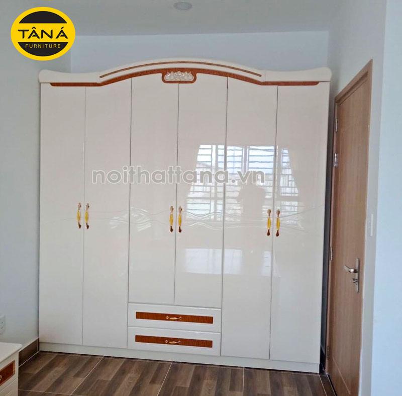 Tủ quần áo gỗ công nghiệp TA-1668T