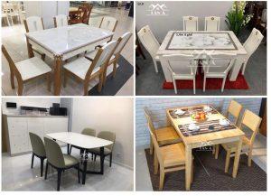 Mẫu bàn ăn đẹp cho chung cư