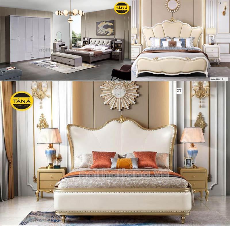 """Giường ngủ nhập khẩu châu âu – """"Chìa khóa vàng"""" cho không gian sống đẹp"""